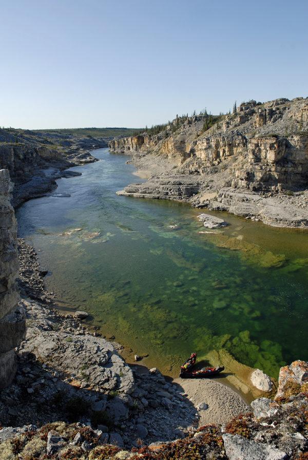 Paysage de la rivière Horton