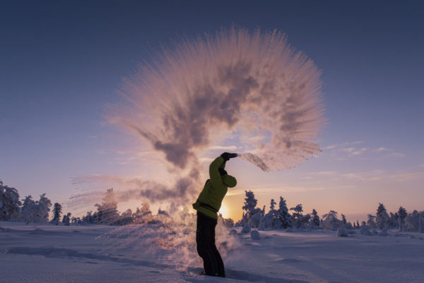 Activité en Laponie