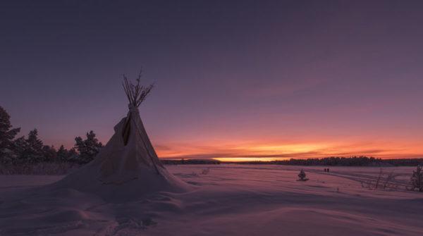 Lodge Aurora en Laponie