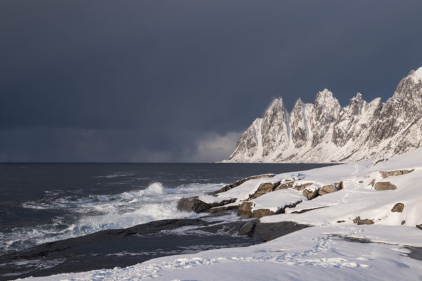 Paysage de l'île de Senja