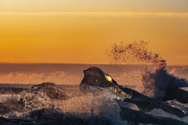 Diamond beach en Islande