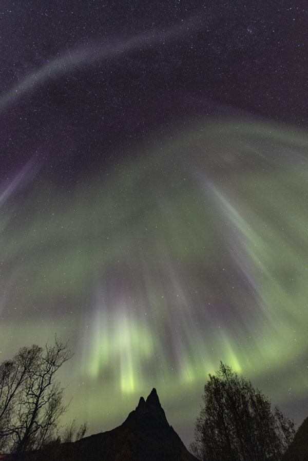 Aurore en Norvège